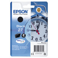 Epson 27 Black Ink Cartridge - C13T27014012