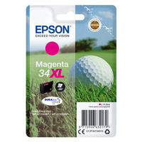 Epson 34XL Magenta Ink Cartridge - High Capacity C13T34734010