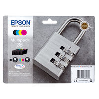Epson 35 Black and Colour Ink Multipack - C13T35864010