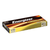 Energizer Industrial AAA Batteries, Pack of 10 - 636106