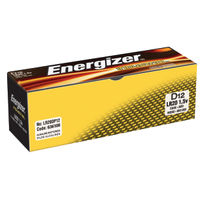 Energizer Industrial D Batteries, Pack of 12 - 636108