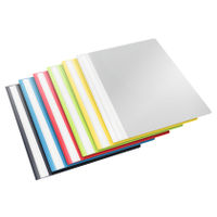 5 x Esselte A4 Report Files in assorted colours - 15449v