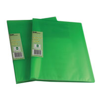 Pentel Recycology Vivid Green A4 Display Book, 30 Pockets - Pack of 10 - PE07335