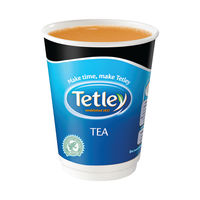 View more details about Nescafe and Go Tetley Tea Cup, Pack of 16 - 12223433