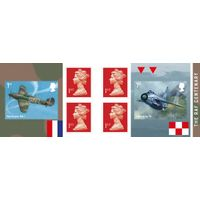 1st Class Stamps x 6 Pack - (Postage Stamp Book) - RAF Centenary - UB413