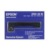 View more details about Epson ERC22B Fabric Black Ribbon C43S015358