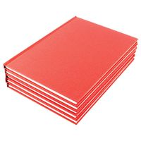 A5 Feint Ruled Manuscript Books, Pack of 10 - WX01061