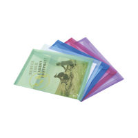 View more details about Rapesco Assorted A4 Eco Popper Wallets, Pack of 5 - 1039