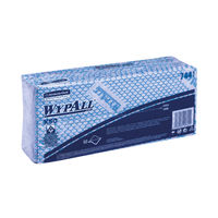 View more details about Wypall X50 Cleaning Cloths Blue (Pack of 50) 7441