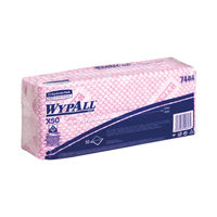 View more details about Wypall Red X50 Cleaning Cloths, Pack of 50 - 7444