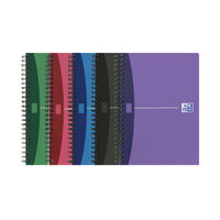View more details about Oxford Office A5 Wirebound Notebook - Pack of 5 - 100101300