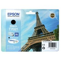 Epson T7021 Black Ink Cartridge - High Capacity C13T70214010