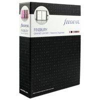 Filofax Black Finsbury Personal Organiser - 025302