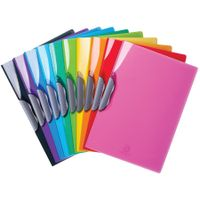 Iderama Clip Files Assorted, Pack of 20 - 45670E