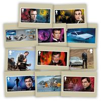 The James Bond Stamp Card Pack