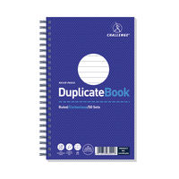 View more details about Challenge Carbonless Duplicate Ruled Book, 50 Slips (Pack of 5) - F63001