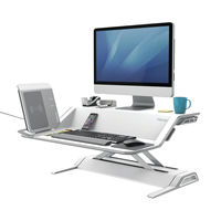 View more details about Fellowes Lotus White Sit Stand Work Station – 0009901