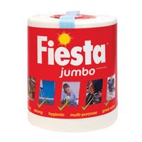 View more details about Fiesta White Jumbo Kitchen Roll 600 Sheets 5604400