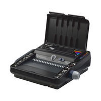 View more details about GBC 230E Multifunctional Electric Comb and Wire Binding Machine - 4400424