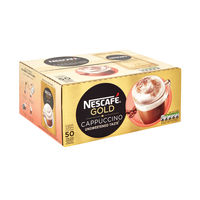 View more details about Nescafe Unsweetened Cappuccino Sachets, 16g, Pack of 50 - 12235765