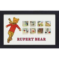 View more details about Rupert Bear Framed Stamp Set