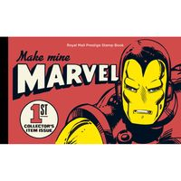 Marvel UK Prestige Stamp Book <TAG>BESTBUY</TAG>