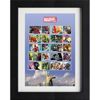 View more details about The Marvel Framed Generic Sheet - N3157