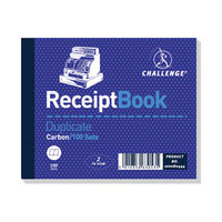 View more details about Challenge Carbon Duplicate Receipt Book, 100 Slips - Pack of 5 - D63053