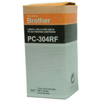 Brother PC-304RF Nylon Black Ribbon, Pack of 4 - PC304RF