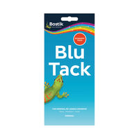 View more details about Bostik Blu Tack Economy Pack 110g, Pack of 12 -  BK80108