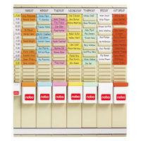 Nobo T-Card 7 Day Planning Kit