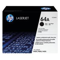 View more details about HP 64A Black Laserjet Toner Cartridge CC364A