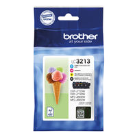 Brother LC-3213 4 Colour Ink Cartridge Multipack - LC3213VAL