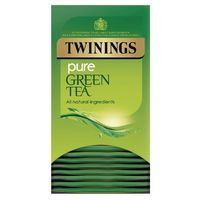 View more details about Twinings Pure Green Tea Bags (Pack of 20) F09542