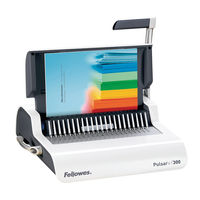 View more details about Fellowes Pulsar+ Manual Comb Binder - 5627601