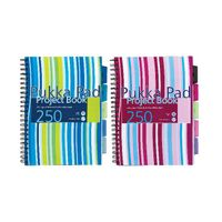 View more details about Pukka Pad Blue A4 Polypropylene Project Book - Pack of 3 - PROBA4