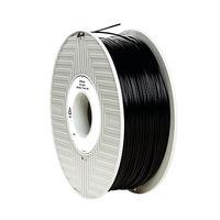 Verbatim Black 1.75mm ABS 3D Printing Filament, 1kg Reel - 55026