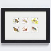 View more details about Brilliant Bugs Framed Stamp Set