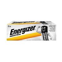 Energizer C Industrial Batteries, Pack of 12 - 636107