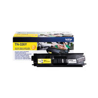Brother TN-326Y Yellow Toner Cartridge - High Capacity TN326Y