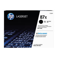 HP 87X High Capacity Black Toner Cartridge