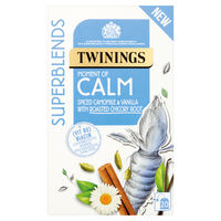 View more details about Twinings Superblends Calm Tea, Pack of 20 - F15169