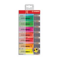 Stabilo Original Assorted Highlighters Pens, Pack of 8 - 70/8