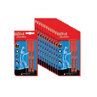 Berol Black Handwriting Pen Blister Cards, Pack of 24 - S0672930