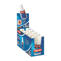 Tipp-Ex White Rapid Correction Fluid 20ml, Pack of 10 - 8012969