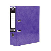 Concord IXL Selecta Purple A4 Lever Arch File 70mm - Pack of 10 - 162287