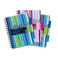 View more details about Pukka Pad A5 Polypropylene Project Books, 250 Pages - Pack of 3 - PROBA5