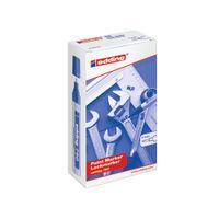 Edding 750 Black Bullet Tip Paint Markers, Pack of 10 - ED750BK