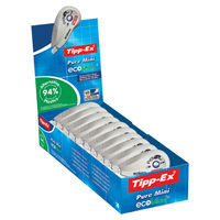 Tipp-Ex Pure Mini Correction Tape (Pack of 10) - 918467