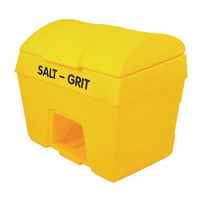 View more details about Salt/Grit Bin With Hopper Feed 200 Litre Yellow 317060